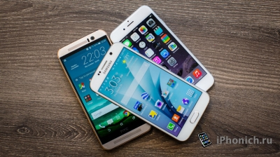 iPhone 6 vs Samsung Galaxy S6 vs HTC One M9: сравнение камер