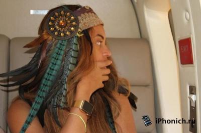 У Beyonce есть золотые часы Apple Watch