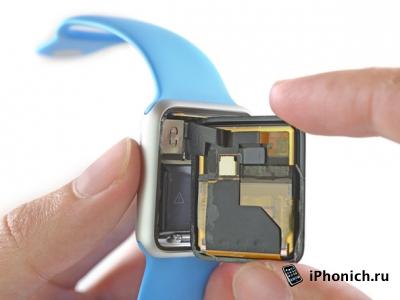 Как iFixit, Apple Watch разбирал