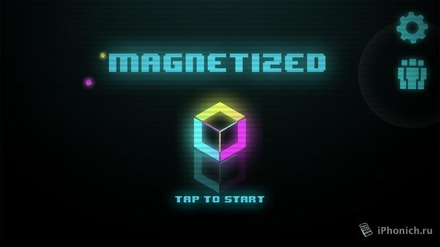 Magnetized - минималистичная головоломка для iOS