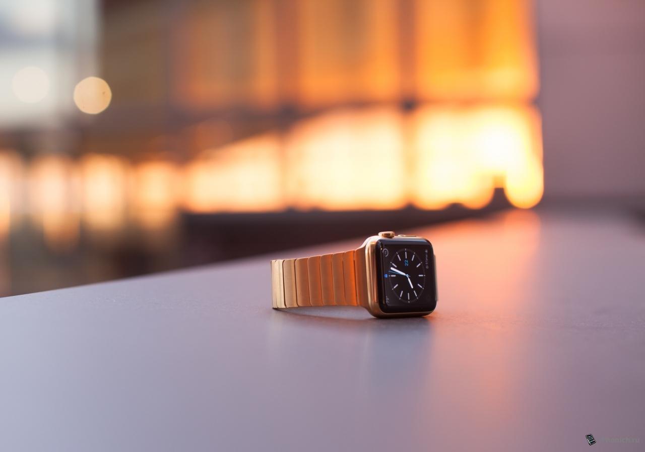 Способ как из обычных Apple Watch сделать золотые