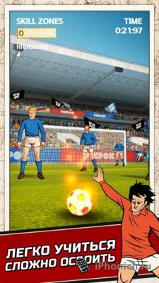 Flick Kick Football - Захватывающий футбольный хит