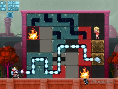 Mighty Switch Force! Hose It Down! - отличная головоломка