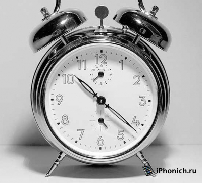 Как поменять звук будильника на iPhone?
