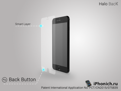 Halo Back - «умная» защитная пленка для iPhone 6