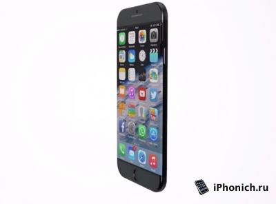 Концепция iPhone Edge с изогнутым дисплеем