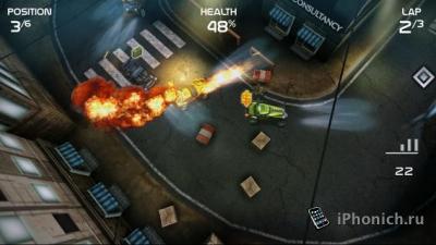 Гонки Death Rally для iPhone и iPad