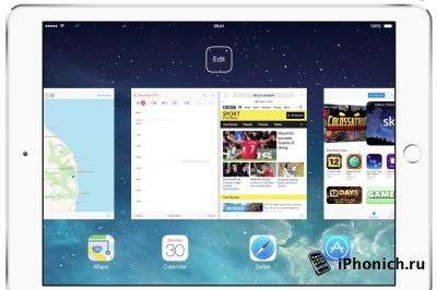 В iOS 9 будет многооконный режим