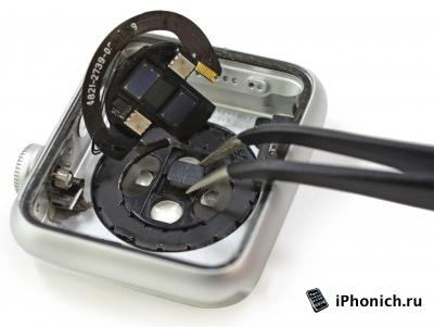 В Apple Watch есть датчик измерения уровня кислорода в крови