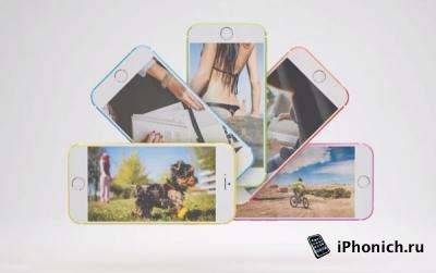 Концепт iPhone 6с (видео)