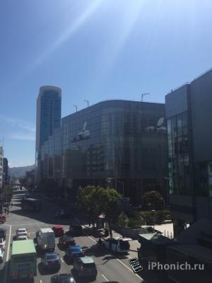 Москоне Центр начали украшать к WWDC 2015