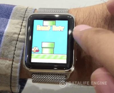 Игру Flappy Bird запустили на Apple Watch