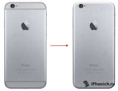 В iPhone 6S не будет пластиковых вставок