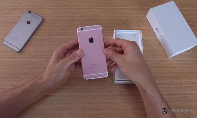 iPhone 6S китайская копия уже вышла (видео)