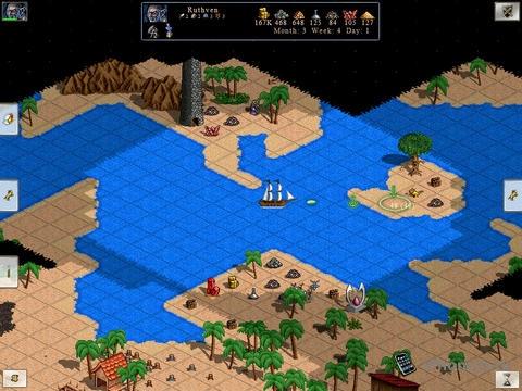 Palm Kingdoms 2: Герои 3 на айпаде - очень круто!