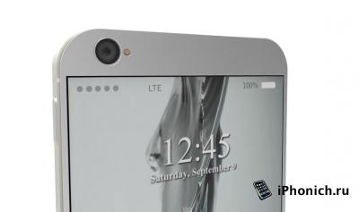 iPhone 8: концепция с энергосберегающим дисплеем