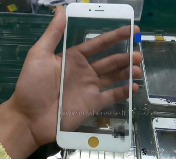 Фотографии передней панели iPhone 6s