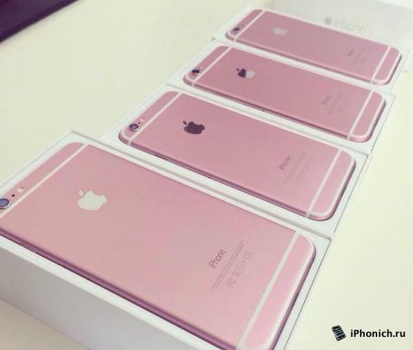 цвета айфона 6 фото