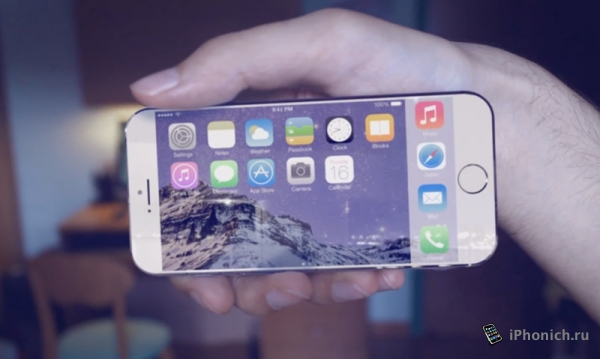 Концепт 4-дюймового iPhone Air