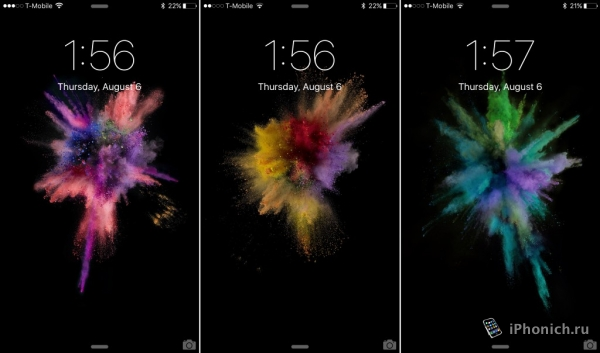 Обои из iOS 9 beta 5