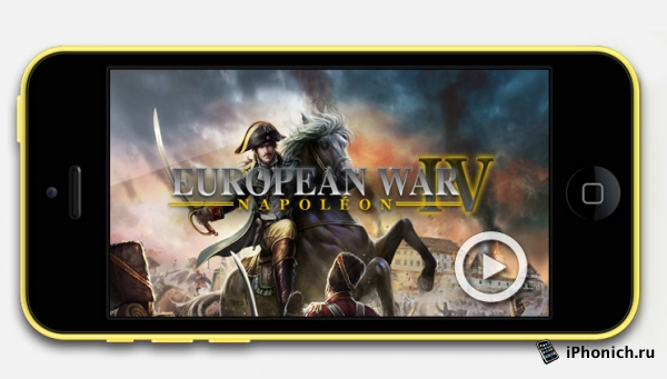 European War 4: Napoleon - стратегия для iOS