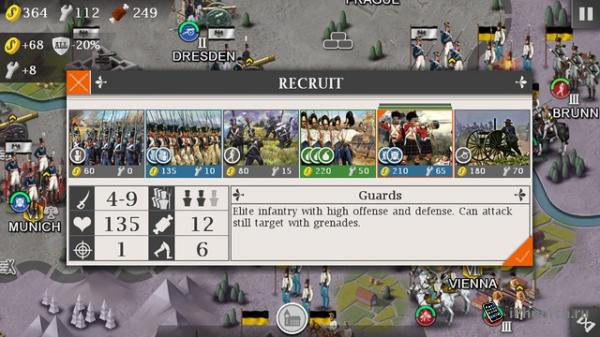 European War 4: Napoleon - стратегия для iOS