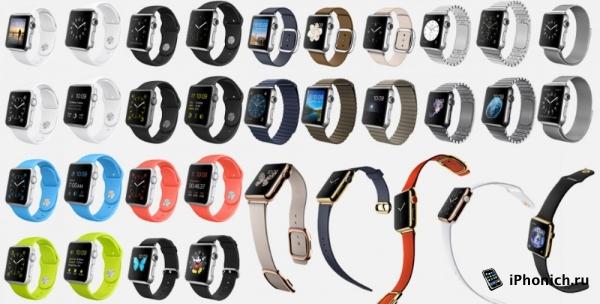 Ассортимент ремешков для Apple Watch стал больше