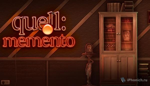 Quell Memento+ - бесподобная головоломка для iOS