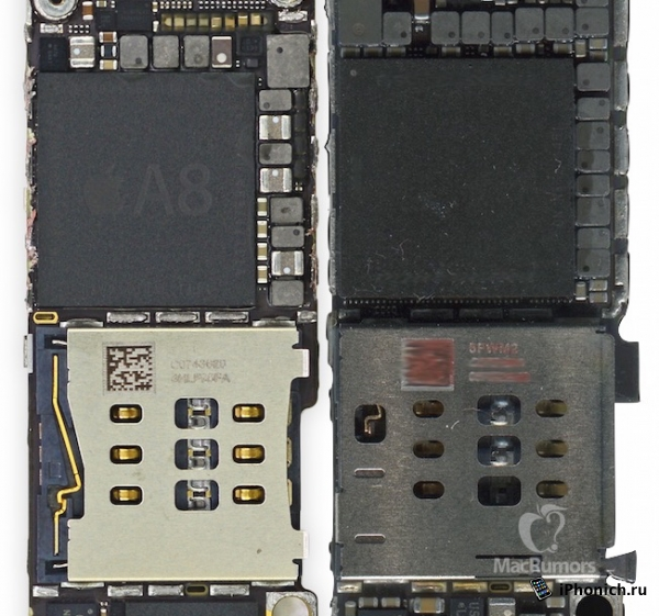 iPhone 6S собрали из комплектующих деталей
