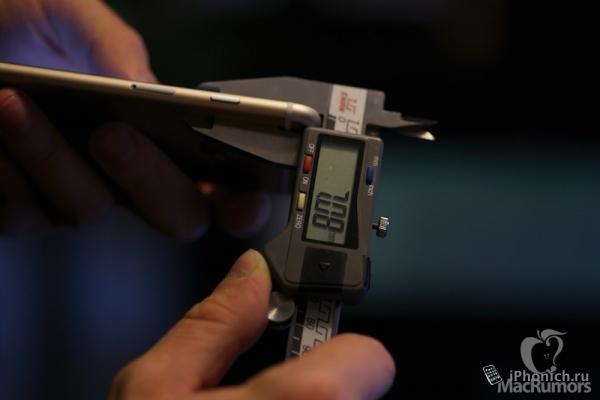 iPhone 6S будет чуть тоньше iPhone 6