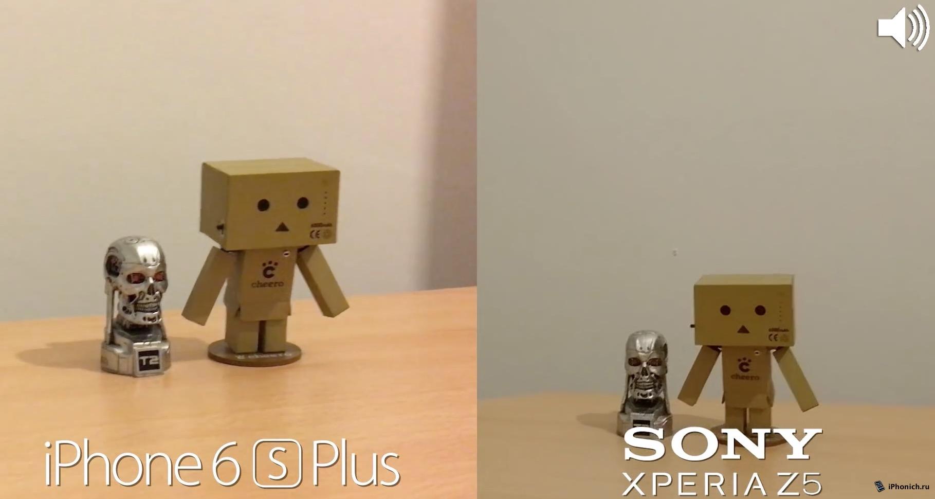 Sony Xperia Z5 vs iPhone 6s Plus: Сравнение качества фото и видео