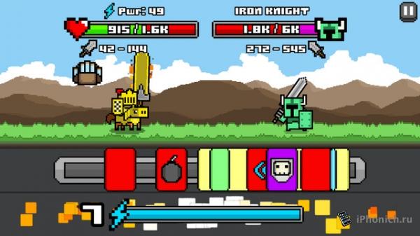 Combo Quest - Раннер на iOS