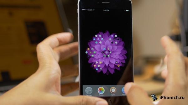 Твик Aeternum Hives - домашний экран как у Apple Watch