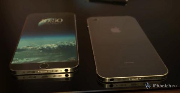 Красивый концепт iPhone 7 (видео)