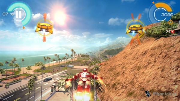 Железный Человек 3 - Необычный экшен от Gameloft