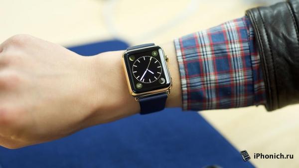 """У Apple Watch 2, будут """"умные"""" ремешки с экраном"""