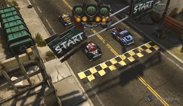 caRRage - Современный Rock'n'Roll Racing!