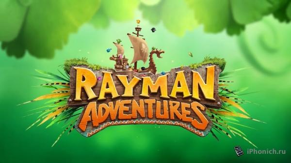 Rayman Приключения: - Одна из редких, стоящих игр на iPhone.