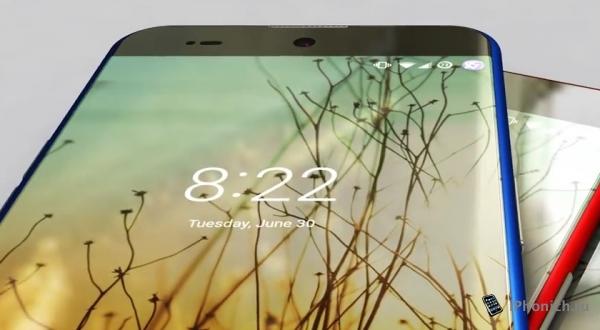 Концепт iPhone 7 Edge, как Самсунг