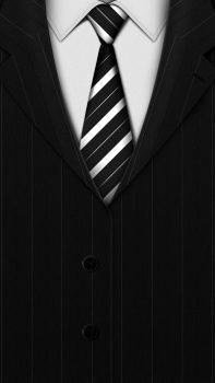 Abstract-Black-Suit-Tie-Background-iPhone-6-plus-wallpaper-ilikewallpaper_com
