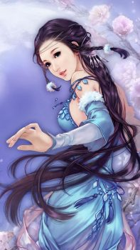 Anime-Dreamy-Fantasy-Ancient-Beauty-iPhone-6-plus-wallpaper-ilikewallpaper_com