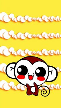 Cute-Sweet-Hippie-Monkey--iPhone-6-plus-wallpaper-ilikewallpaper_com