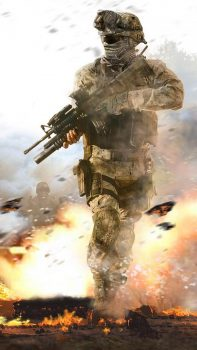 Fighting-Soldier-In-Hail-Of-Bullets-iPhone-6-plus-wallpaper-ilikewallpaper_com