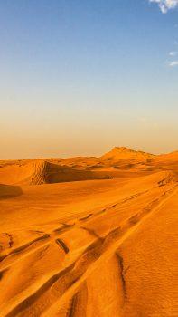 Pure-Nature-Golden-Desert-Landscape-iPhone-6-plus-wallpaper-ilikewallpaper_com