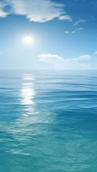 Sunny-Clear-Ocean-Skyline-Landscape-iPhone-6-plus-wallpaper-ilikewallpaper_com