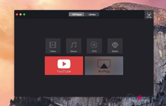 5kPlayer - загрузчик видео с поддержкой AirPlay