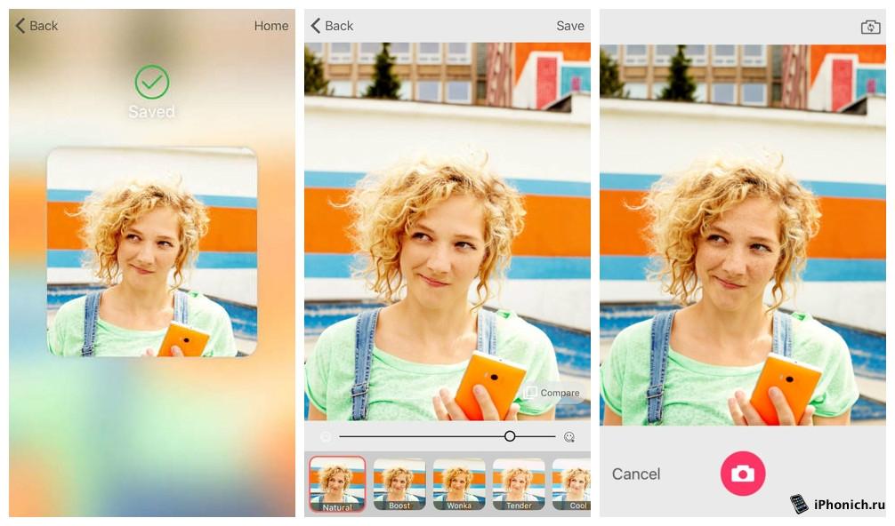 Microsoft Selfie - приложение для селфи