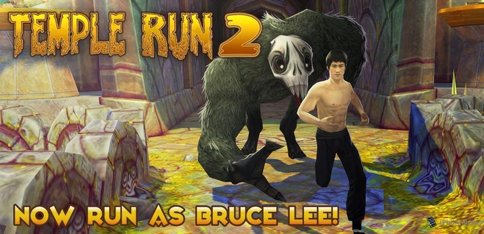 В Temple Run 2 теперь бегает Брюс Ли