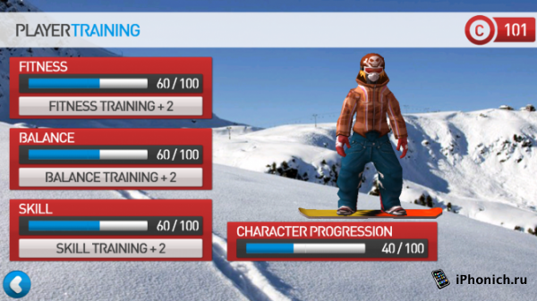 Fresh Tracks Snowboarding -  спортивный симулятор