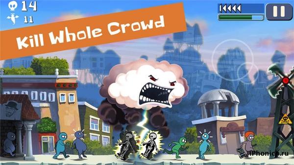Cloud vs Сrowd - игра для тех, кто не любит людей